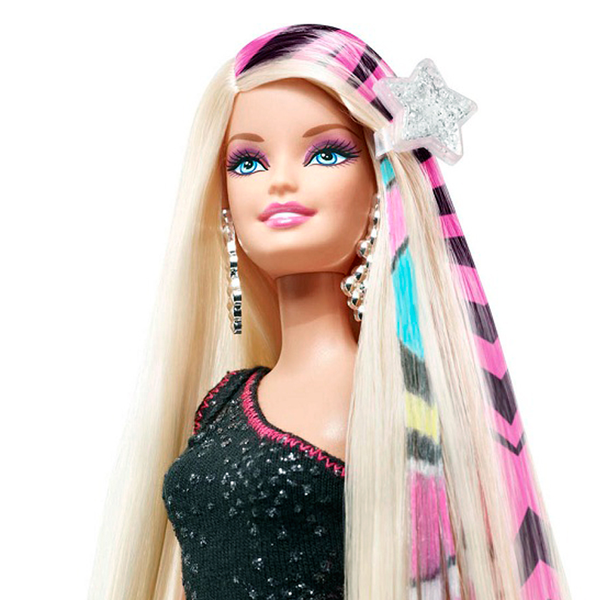 Barbie coiffer for Salon de coiffure barbie